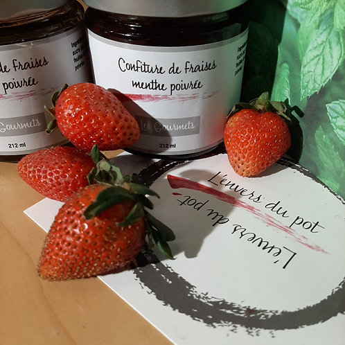 ENV0005 - Confiture de fraises menthe poivrée