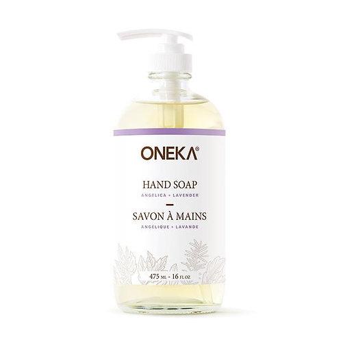 ONE0115 - Savon à mains - Angélique et lavande