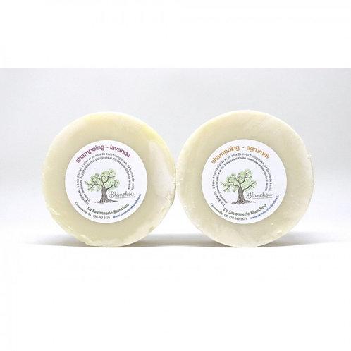 SAVONNERIE BLANCHOU - Shampoing rond - agrumes ou lavande