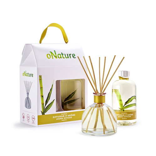 ONA1227 -  RECHARGE - Diffuseur d'arôme - Arome diffuser - Bamboo