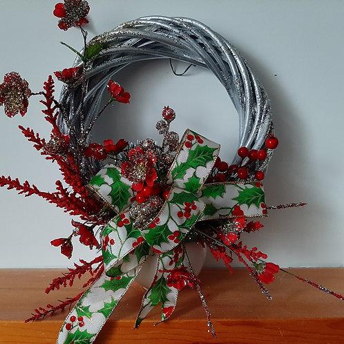 DÉCO-N - Couronne de Noël - feuilles de gui