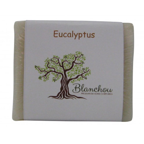 BLA0011 - Savon à l'huile essentielle d'eucalyptus