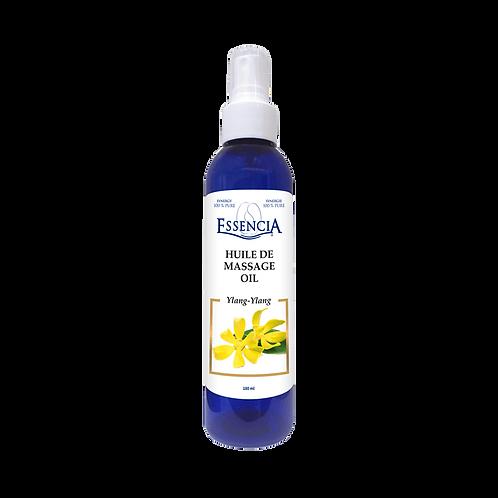 Huile de massage Ylang-Ylang / Ylang-Ylang Massage Oil | Essencia