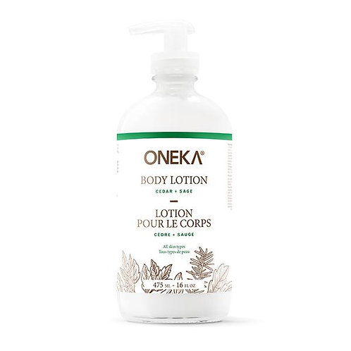 ONEKA - Lotion pour le corps - Cèdre et sauge
