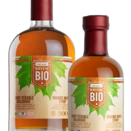 BRI6201 - Sirop d'érable biologique / Organic Maple Syrup