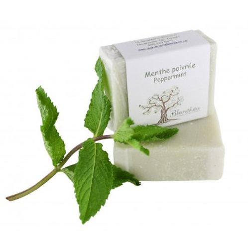 Savon à l'huile essentielle de menthe poivrée
