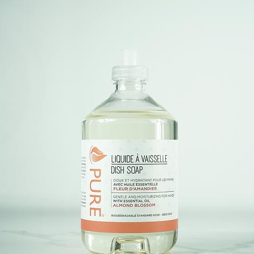 PUR0236 - Liquide à vaisselle - huile essentielle de fleur d'amandier