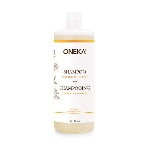 ONE0005 - Shampoing - Hydraste et agrumes / Goldenseal & citrus