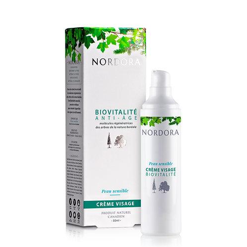 Nordora - BioVitalité - Crème visage - peau sensible/Face cream - sensitive skin