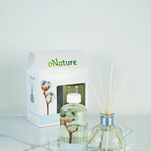 oNATURE - Coffret diffuseur d'arôme / Aroma diffuser - Fleur de coton