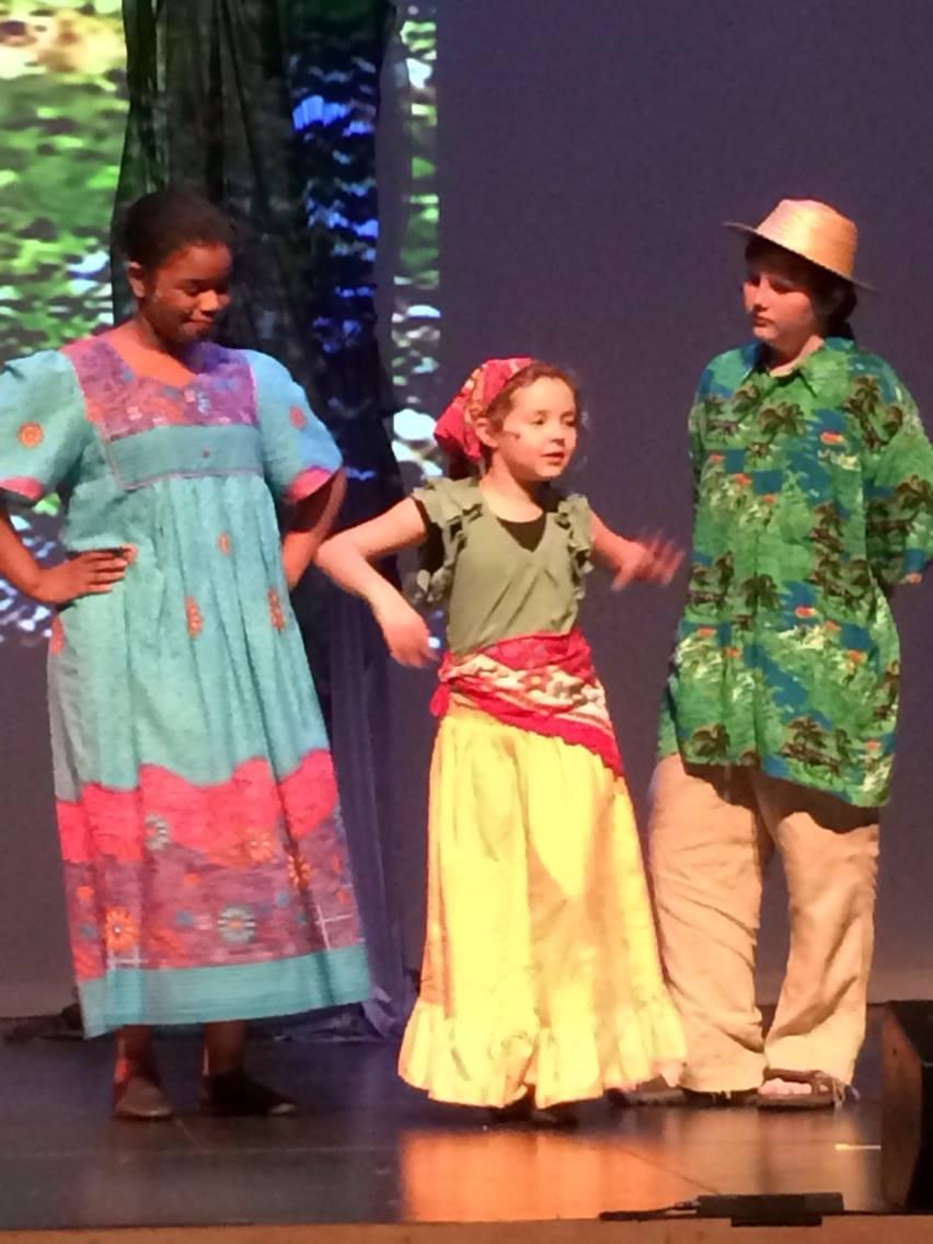 Mama, TonTon, and Little TiMoune