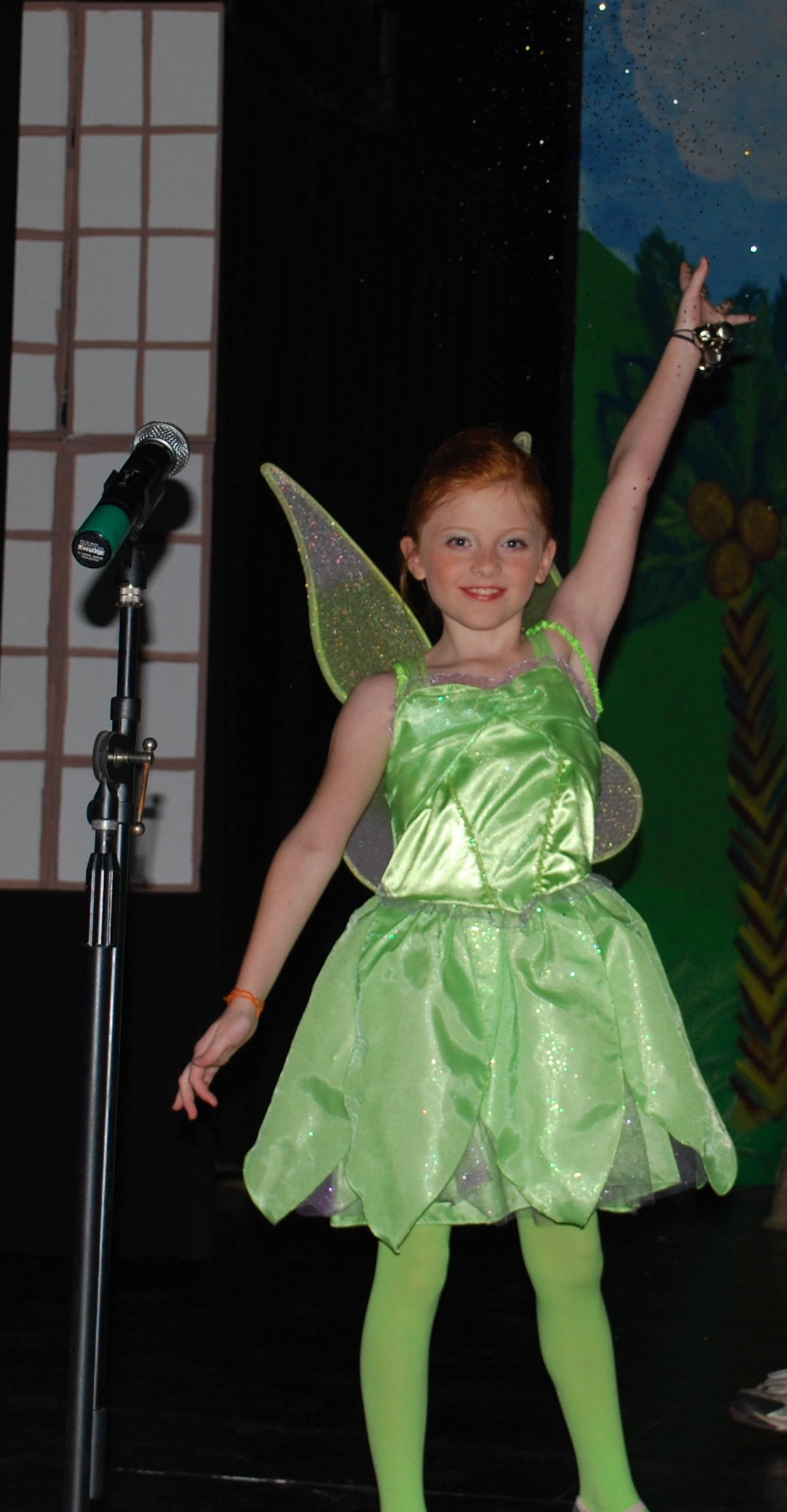 Katelyn as Tinkerbell!