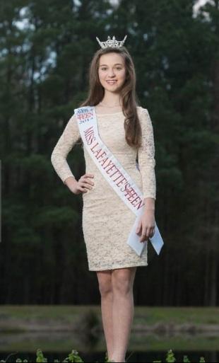 Gracie - Miss Teen Lafayette!
