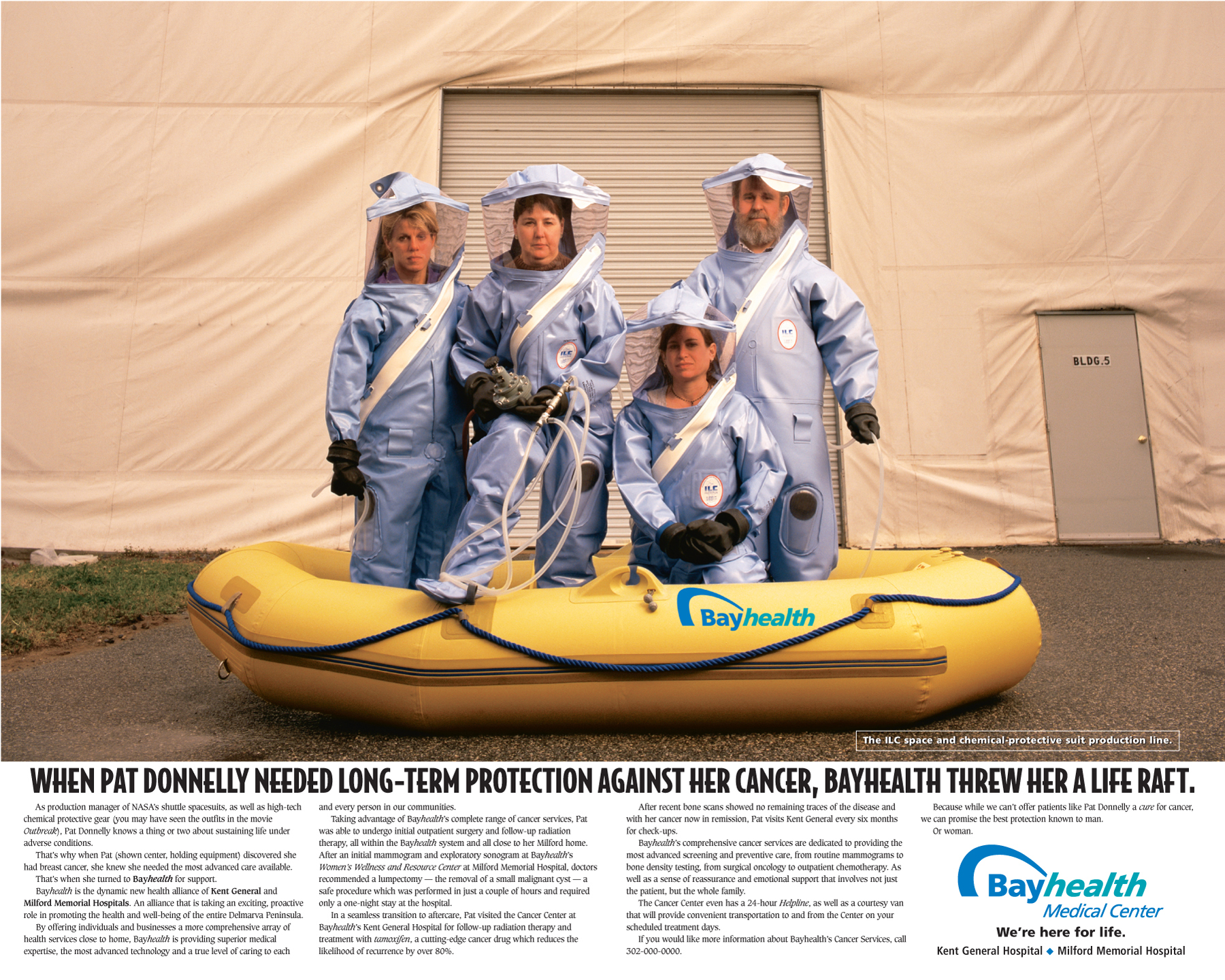 BayHealth-Hazmat Suits