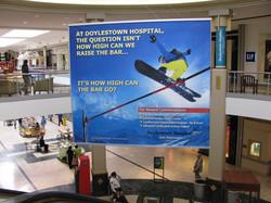 Doylestown Hospital Mall sign