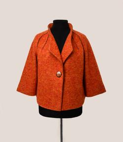 куртка рыжая
