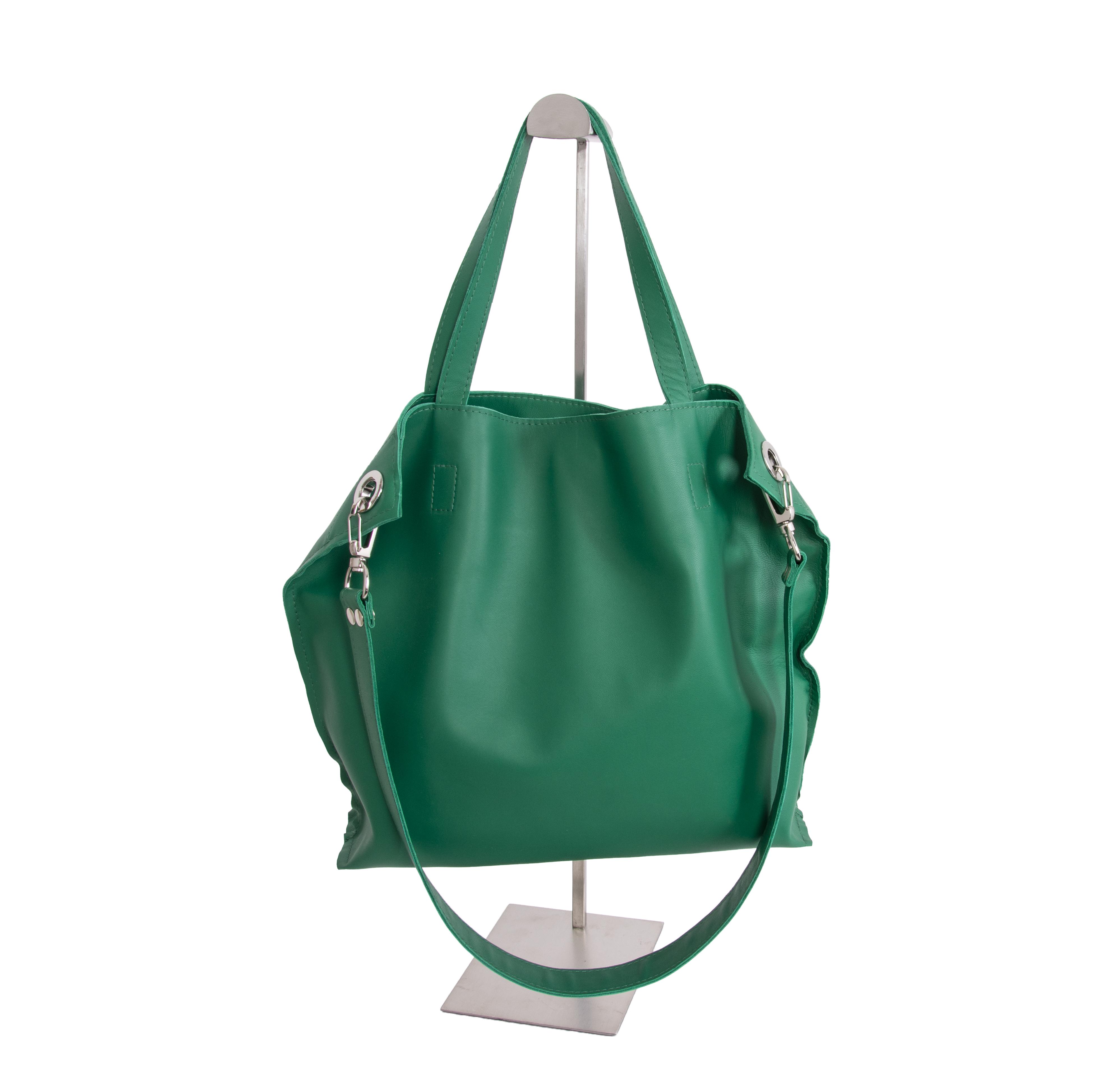 сумка зеленая