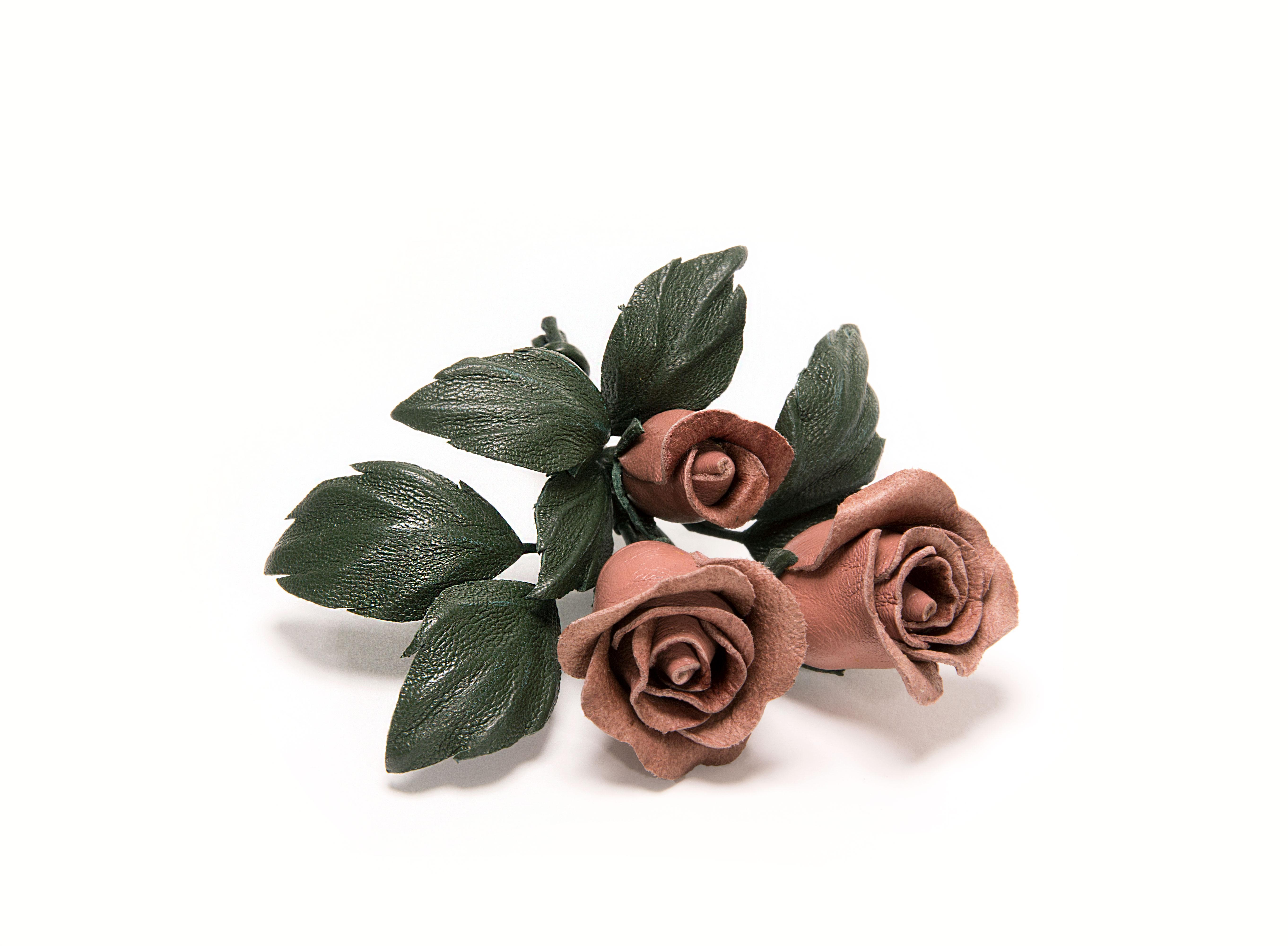 брошь-букет-роз