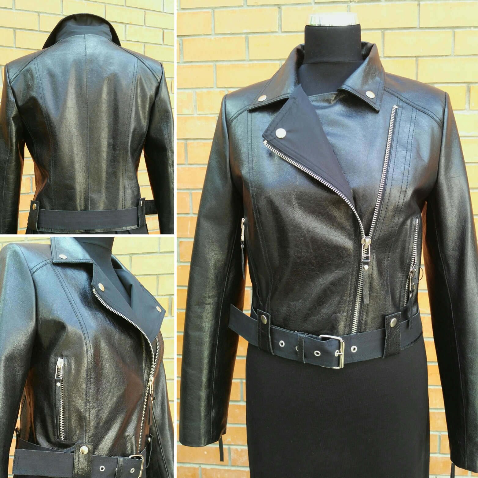 Куртка кожаная женская «косуха»