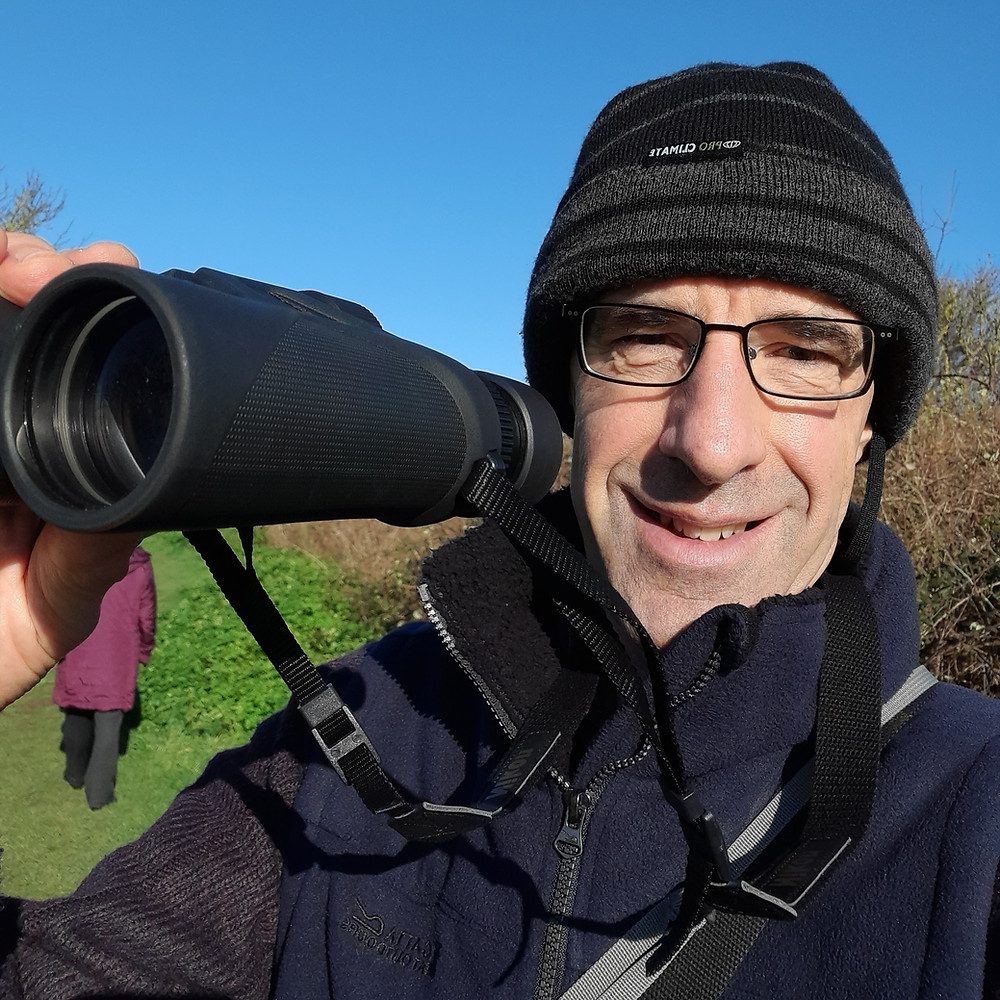 Out doing some bird watching at Pegwell Bay