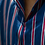 Thumbnail: Silk Stripe Shirt and Jeans