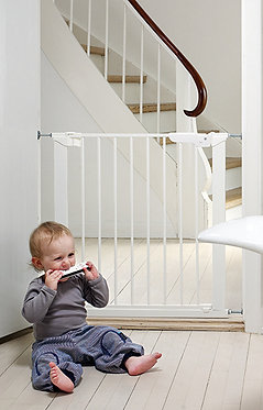 BabyDan Premier Pressure Gate with 2 Extensions