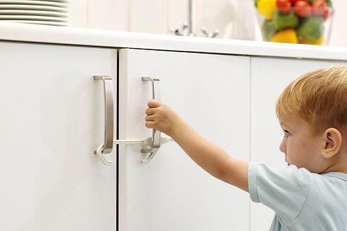 BabyDan Safety Sliding Cabinet Door Lock -  1 Pack