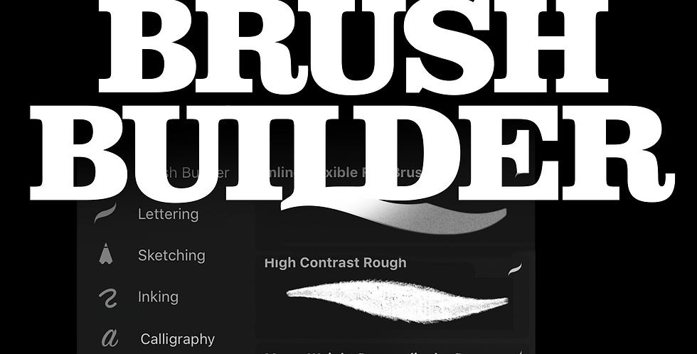 Procreate Brush Builder Template Kit