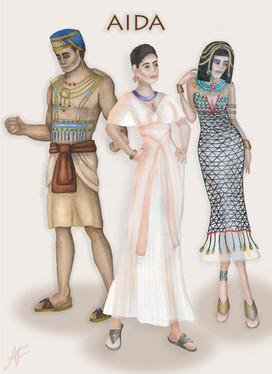 AIDA Main Costumes