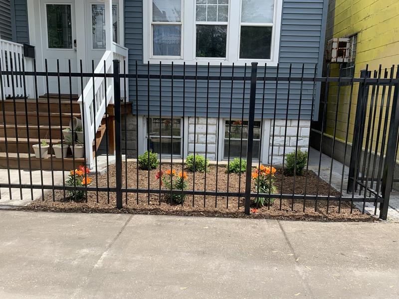 Mulch Flower Bed Design Budget Friendly By Joe Jr Services