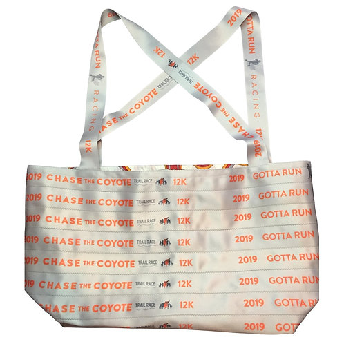 Chase The Coyote Reversible Tote Bag