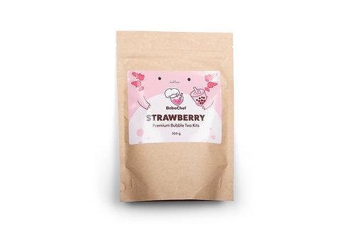 Strawberry Bubble Tea Kit