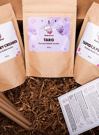 Premium Taro Bubble Tea Kit