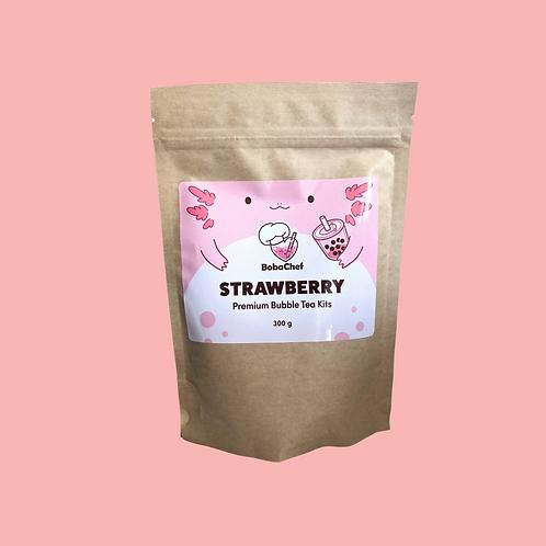 Strawberry Bubble Tea Refill