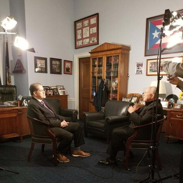 Joaoas Production - Gerson Borrero and Congressman Jose Serrano