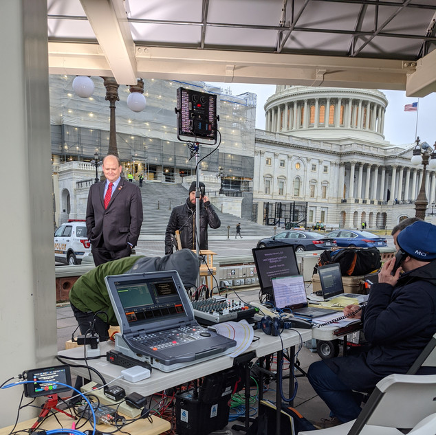 Strauss Media Strategies - State of the Union Interviews on Capitol Hill