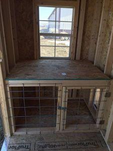 interior dog kennel