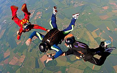 Skydive, Tandem jump, Tandem Skydive, UK Tandem Skydive, Skydiving London, Midlands Skydiving, Learn to skydive, Charity parachute jump, Charity Skydive