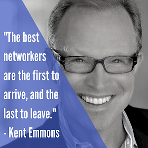 _The best networkers are the first to ar
