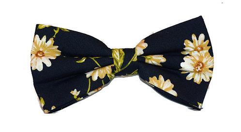 Daisy Floral Bow Tie