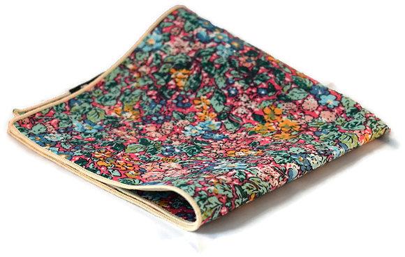 Multi-Coloured Floral Pocket Square