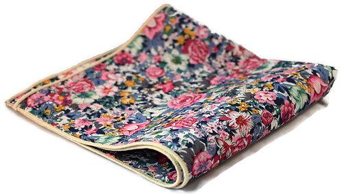 Floral Medley Pocket Square