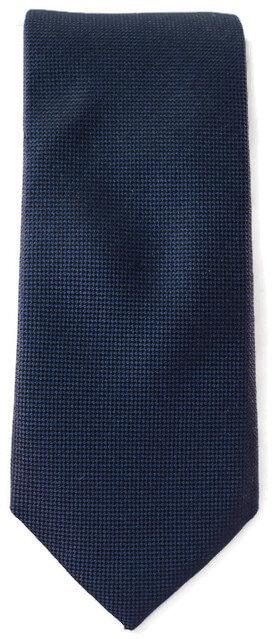 Navy Blue Skinny Tie