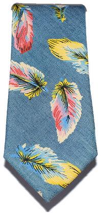 Feather Skinny Tie