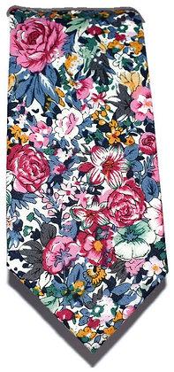 Floral Medley Skinny Tie