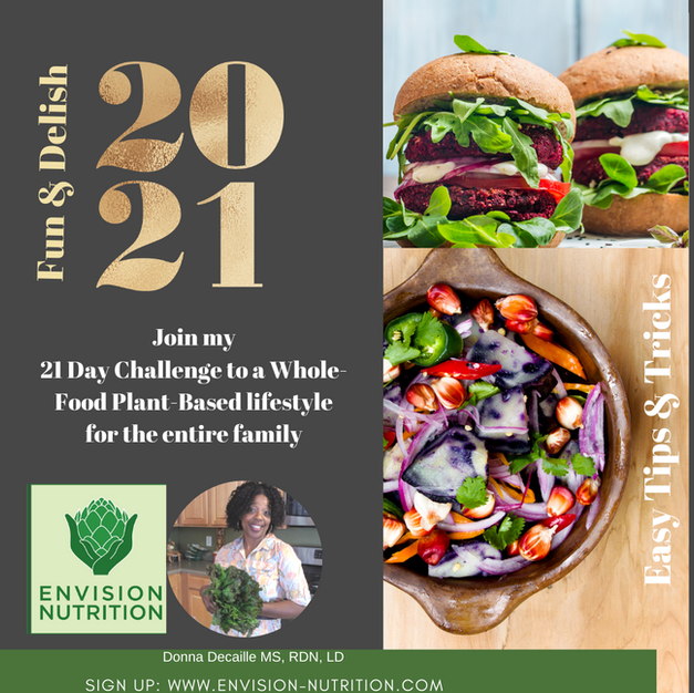 2021 Plant- Based Eating Challenge