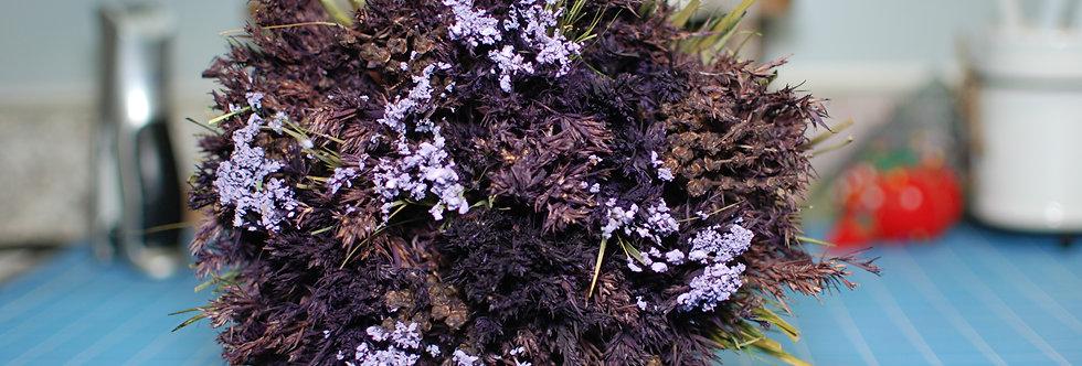 Dried Purple Flowers