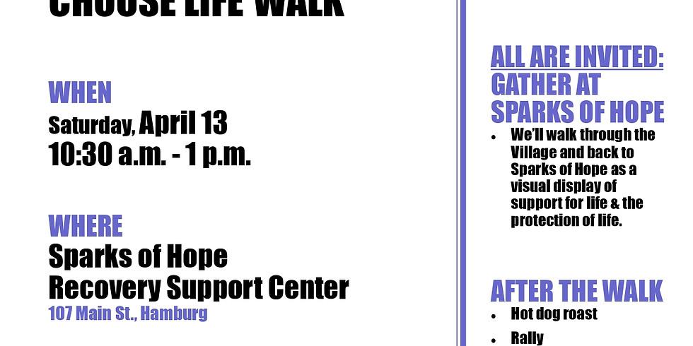 LIFE MATTERS - CHOOSE LIFE Walk/Rally