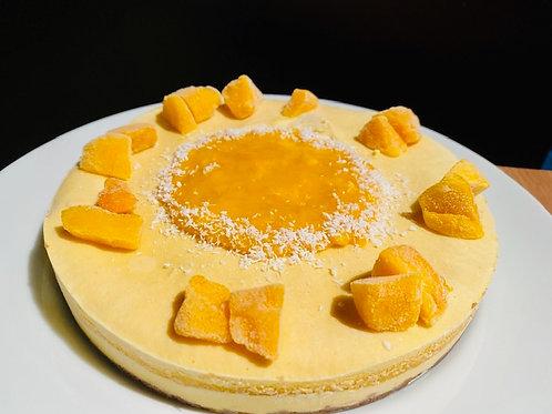 RAWマンゴーチーズ風ケーキ ホール/ RAW Mango cheese style cake
