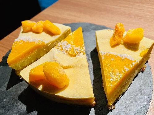 RAWマンゴーチーズ風ケーキ 3ピース / RAW Mango cheese style cake 3PC